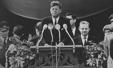 An analysis of the works of john f kennedy